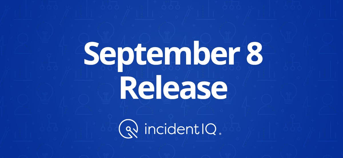 Sept 8 Feature Release